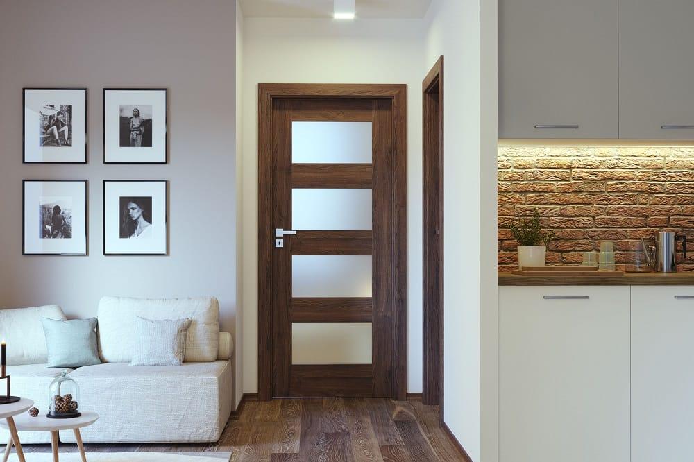 Ciemne drzwi Porta Verte Premium