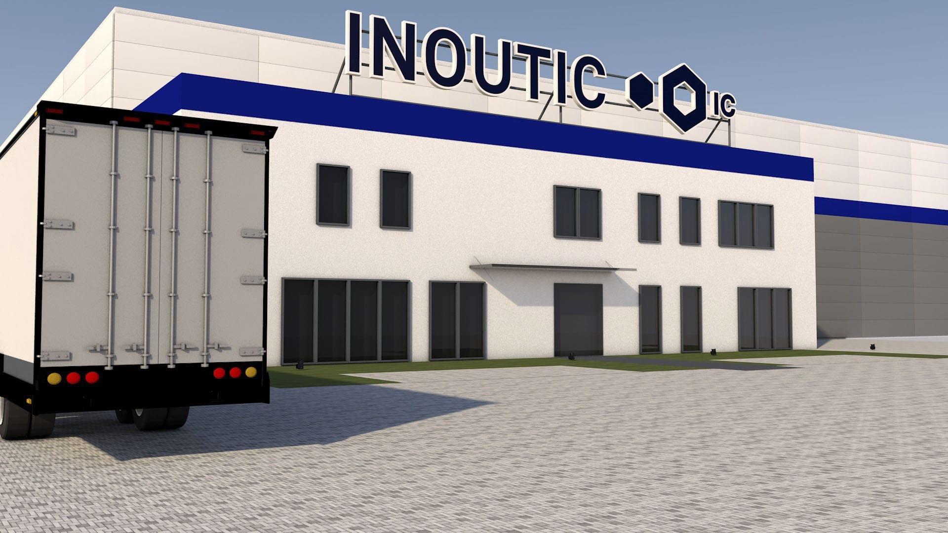 Nowy magazyn firmy Inoutic