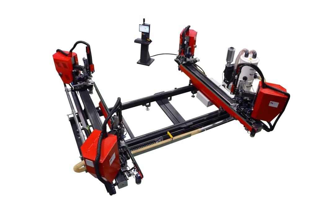 robot do zgrzewania kształtowego